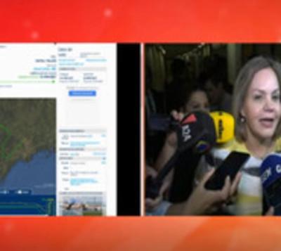 Senadoras apuntan a Uruguay por fuga de Arrom, Martí y Colmán