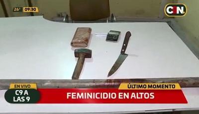 Mujer muere víctima de golpes con mazo
