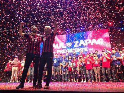 'Raúl Zapag es presidente ilegítimo'