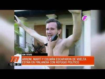 Víctimas de secuestro condenan nueva fuga de Arrom, Martí y Colmán