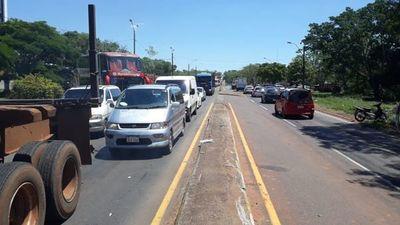 Tomateros liberan ruta tras caótico cierre en Coronel Oviedo
