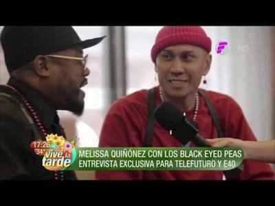 ¡Melissa Quiñonez con los Black Eyed Peas!