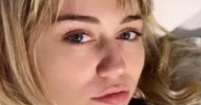 Internaron a Miley Cyrus por amigdalitis