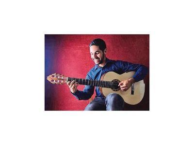Guitarrista nacional Julio Cristaldo va de gira a Alemania