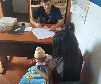 Asisten a familias indígenas de Acaray'mi