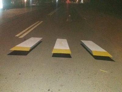 ¿Cuál es la situación de la franja peatonal 3D en Paraguay?