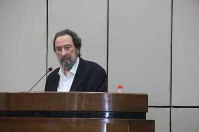 Domingo Laíno fue homenajeado en el Senado