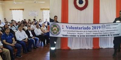 EMOTIVO ACTO DE LANZAMIENTO DEL VOLUNTARIADO 2019 EN ITAPÚA POTY