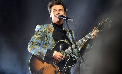 Harry Styles dio indicios del lanzamiento de su nuevo álbum