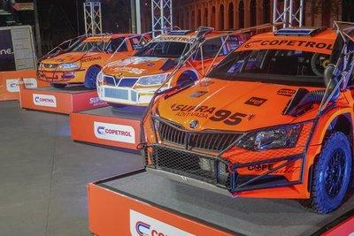 El Rally arranca en Copetrol con 400 Gs menos en combustible