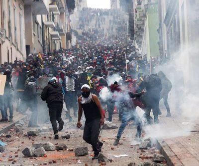 Protestas afectan a la producción petrolera