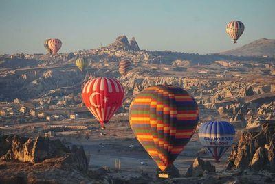 Viajes en globo aerostático: empresa turca analiza traerlos a CDE