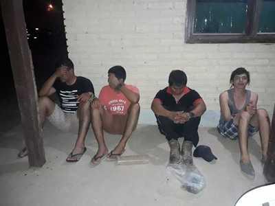 Detienen a Vice-Sargentos con marihuana en Mariscal Estigarribia