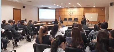 Capacitan sobre Plan Operativo Institucional en Villarrica