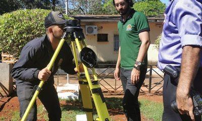 Adquieren equipos topográficos para mapeo de Ciudad del Este