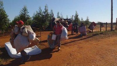 Con gran despliegue policial, desalojan a campesinos en Mariscal López