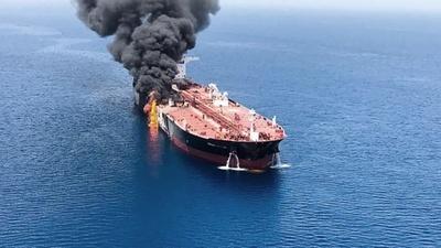 Atacaron un petrolero iraní y EE.UU. envió refuerzos a Arabia Saudita