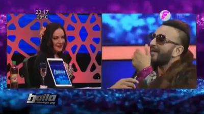 """El imperdible """"dueto"""" entre Zuni Castiñeira y """"El Churero"""""""