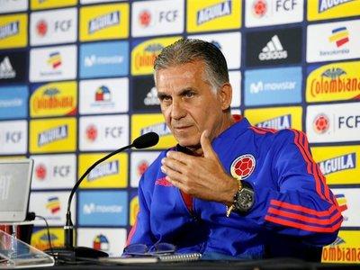 """Queiroz: """"El partido ante Chile nos da la oportunidad de mejorar"""""""