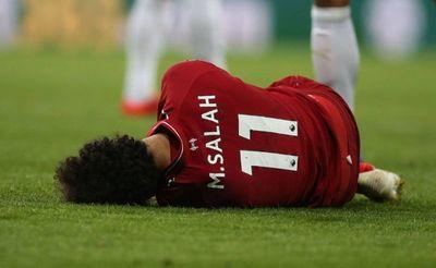 Salah descartado para jugar ante el Barcelona
