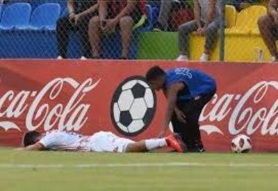 Una lesión aleja a Gustavo Viera de las canchas