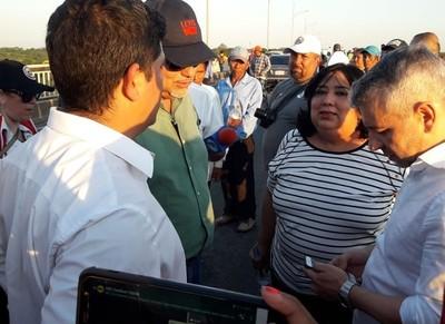 Solicitan a indígenas un cuarto intermedio para desbloquear Puente Remanso