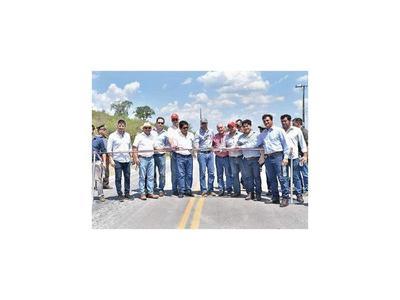 Gobierno inaugura ruta en Concepción
