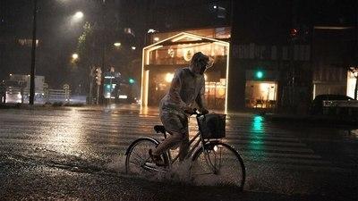 El temible tifón Hagibis llegó a las costas de Japón