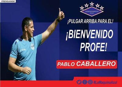 Pablo Caballero asumió en Independiente