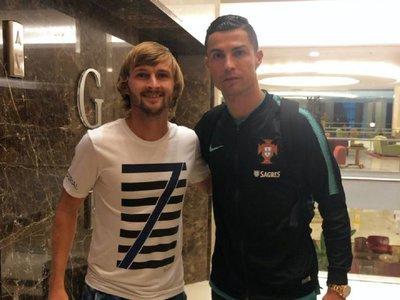 El emocionado relato de Walter Clar al conocer a Cristiano Ronaldo