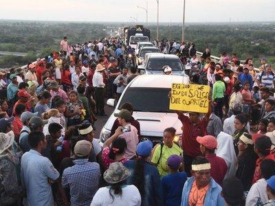 Diputado dice que indígenas son manipulados para desestabilizar al Gobierno