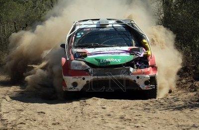 Ale Galanti ganó la segunda etapa y es líder del Rally del Chaco