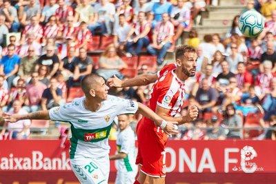 Danilo Ortiz hace su bautismo de gol en el Elche