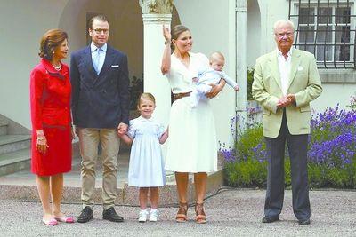 """El rey de Suecia """"quita"""" a cinco nietos de la lista de altezas reales"""