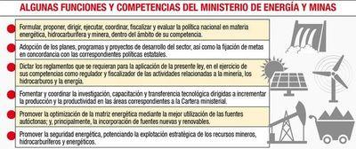 Presentan versión final de proyecto para Ministerio de Energía y Minas