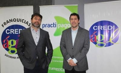 HOY / Practipago y Crediágil firman alianza