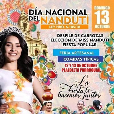 Festival por el Día Nacional del Ñanduti se realiza este domingo en Itauguá