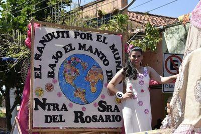 Itauguá festeja el Día Nacional del Ñandutí