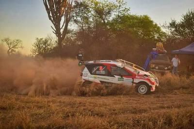 Alejandro Galanti se acerca a un nuevo título en el Rally del Chaco