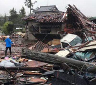 Tifón de Hagibis deja 20 muertos tras su paso en Japón