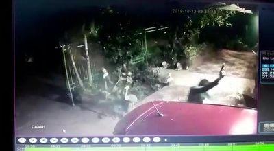 Videos captan fatal asalto en Quiindy