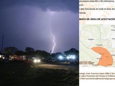 Anuncian tormentas eléctricas para Misiones
