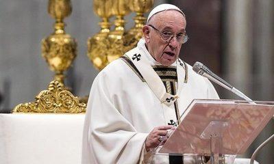 Papa Francisco declaró preocupación por la crisis en Ecuador