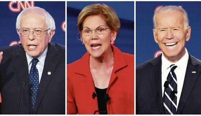 Progresistas vs. moderados: La guerra entre los demócratas que buscan la Casa Blanca