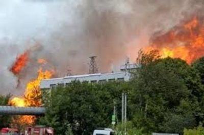 Al menos un muerto y 13 heridos en un incendio en una central eléctrica en Moscú
