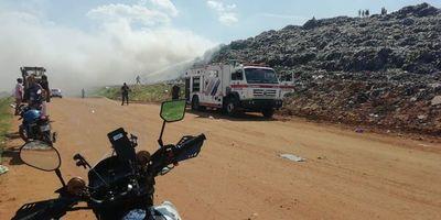 Bomberos controlan incendio en Cateura