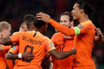 Países Bajos derrota a Bielorrusia en Minsk