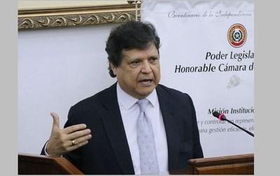 Abdo habría designado a Euclides Acevedo como ministro del Interior