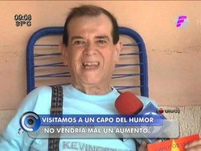 Carlitos Vera pide aumento de su pensión para cubrir gastos médicos