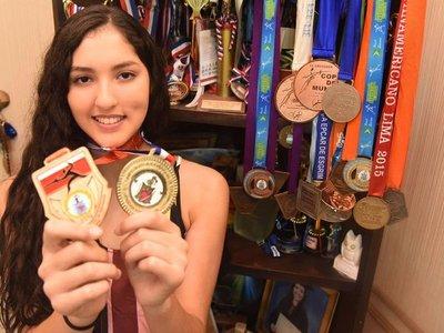 Montse, con sueños olímpicos